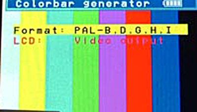 Colour Bar Generator