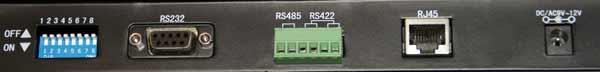 G3 PTZ Controller rear View