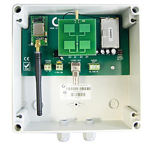 Genie RF500 A PTZ 5.8Ghz Wireless Transmission with PTZ