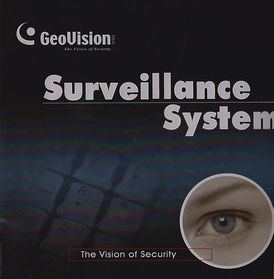 GeoVision Software Disc V8