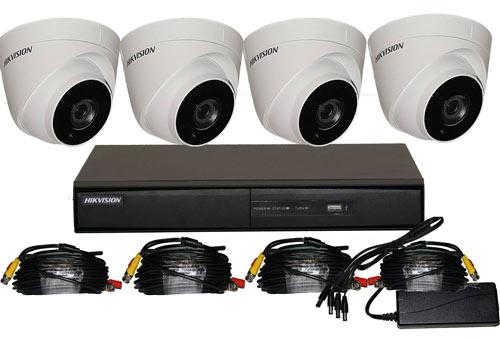 4 Camera CCTV Kits