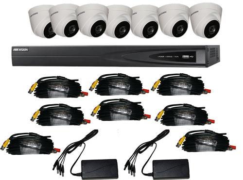 8 Camera CCTV Kits