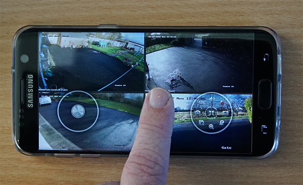 iVMS-4500 Mobile App Sample Image HIKVision