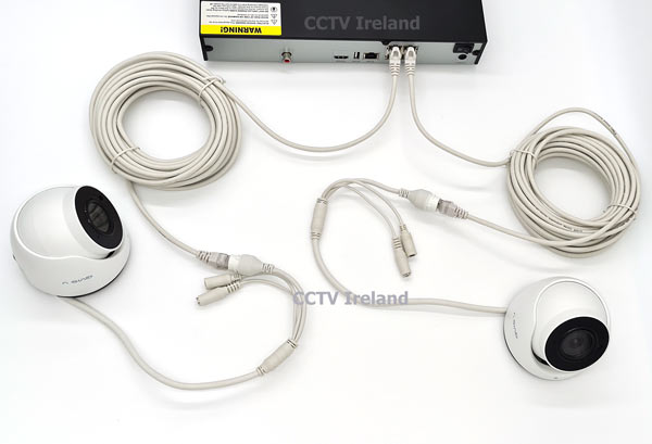 Cognitio NVR Kit Connection Setup - Two Cameras